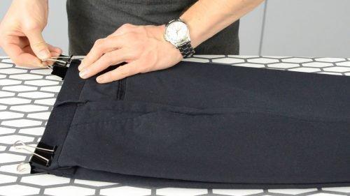Глажение брюк стрелки