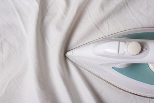 Глажение постельного белья