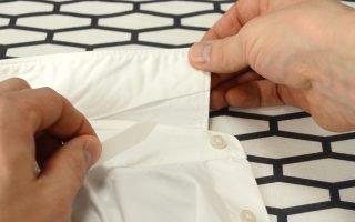 Как правильно гладить воротник рубашки