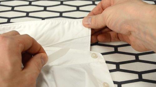 Как гладить воротник рубашки