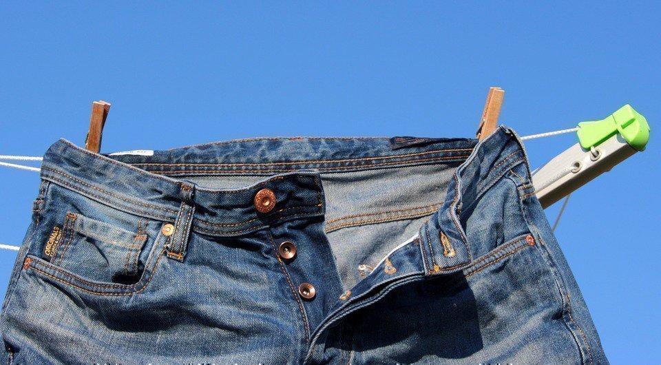 Как постирать штаны