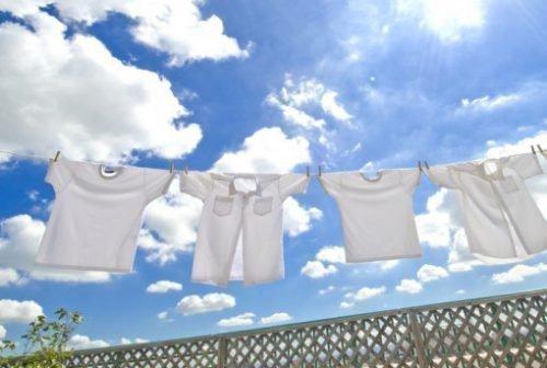 Стирка белой рубашки