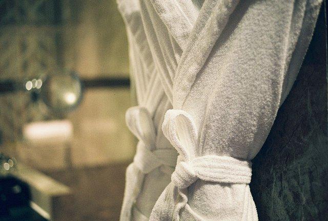 Стирка махрового халата