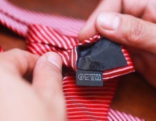 Бирка на галстуке
