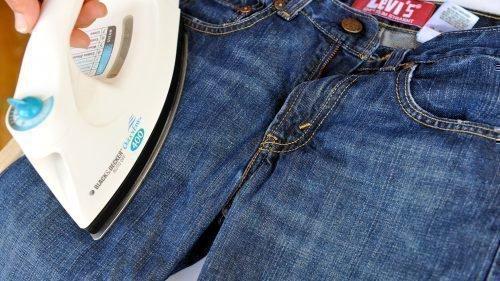 Глажка джинсов