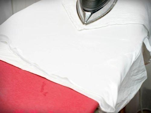 Глажка шелковой блузки