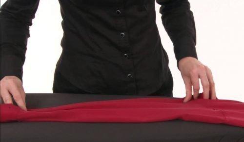 Как гладить блузку