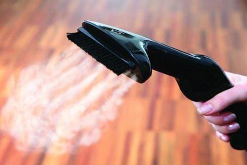 Как погладить пуховик вертикальным утюгом