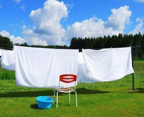 Как стирать лен