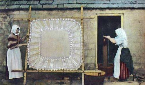 Как сушить павлопосадский шерстяной платок