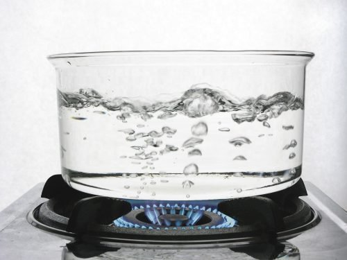 Кипящая вода