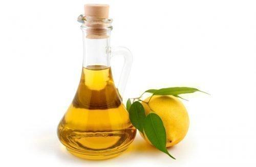 Лимон и подсолнечное масло