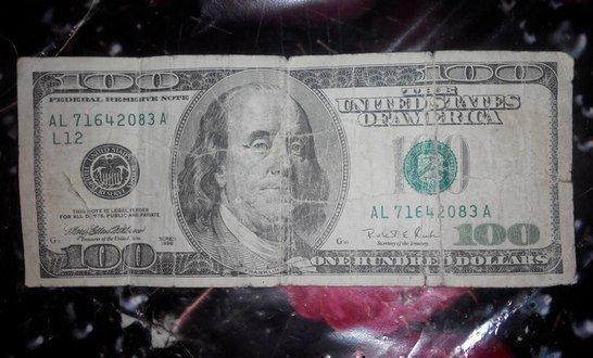 Постиранный доллар