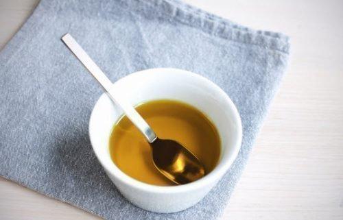 Пятна от растительного масла