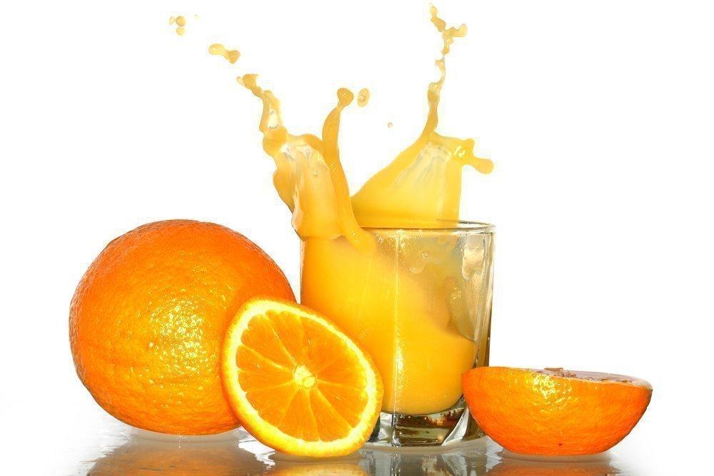 Пятно от апельсина