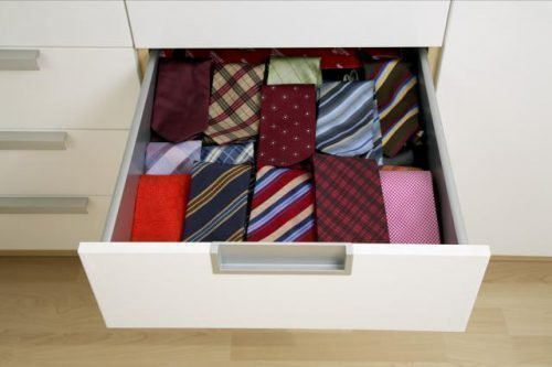 Стирка галстука