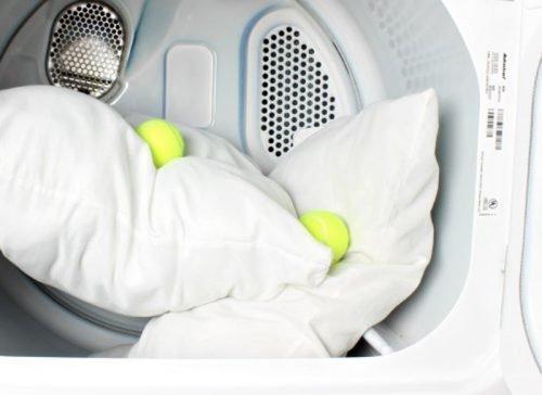 Стирка латексной подушки в машинке