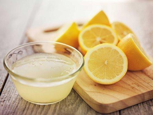 Удаление пятен ржавчины лимоном
