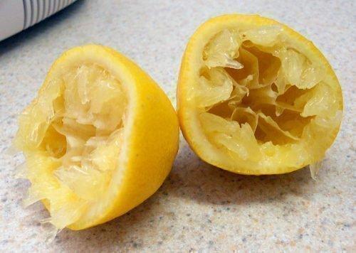 Выдавленный лимон