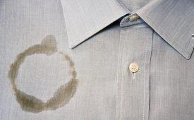 Жирное пятно на одежде: чем и как вывести?
