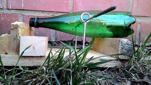 Мышеловка из бутылки