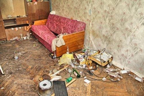 Антисанитария в квартире