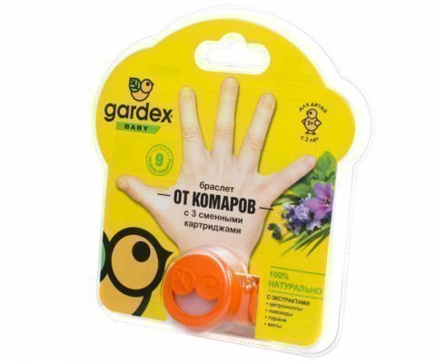 Браслеты от комаров Gardex