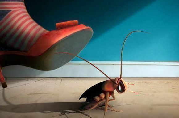 Избавиться от тараканов