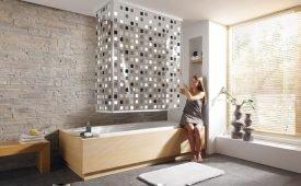 Чистота в ванной: как и чем отмыть занавеску