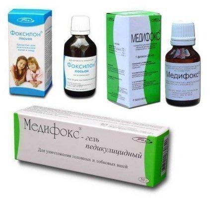 Лекарственные средства от вшей
