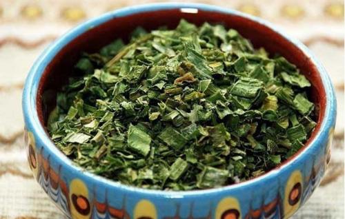 Сушеный зеленый лук
