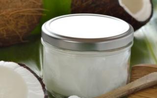 Способы хранения кокосового масла