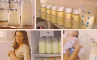 14 советов по хранению грудного молока