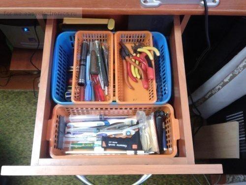 Инструмент в ящике