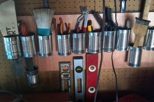 Инструмент в гараже
