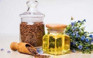Условия хранения открытой бутылки льняного масла
