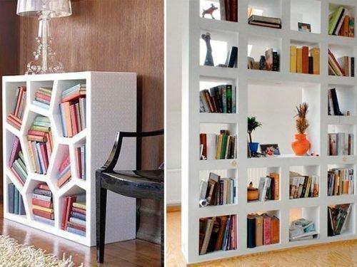 Этажерки для книг