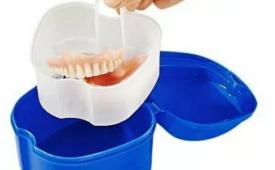 Правила хранения съемных зубных протезов