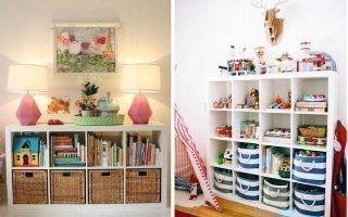 Интересные идеи хранения игрушек в доме