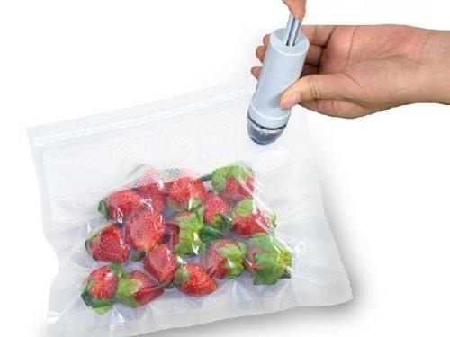 Вакуумный зип пакет с клапаном