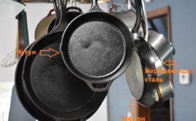 Пошаговые методы как убрать нагар со сковороды в домашних условиях