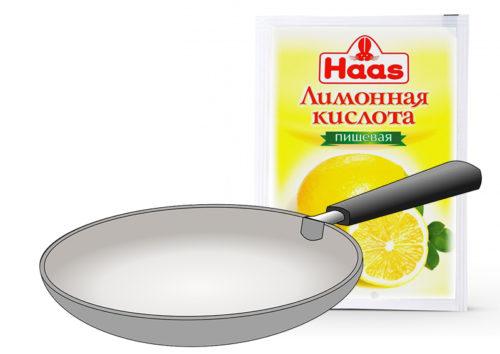 Лимонной кислотой