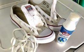 Как правильно отстирать белые шнуры. Полезные советы