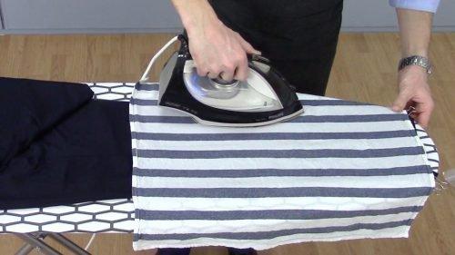 Как погладить брюки