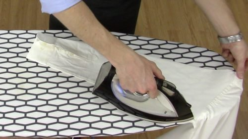 Как погладить рубашку парогенератором