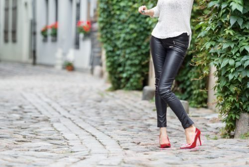 Как постирать кожаные штаны