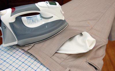Погладить брюки
