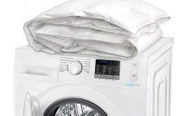 Правила стирки пухового одеяла в домашних условиях