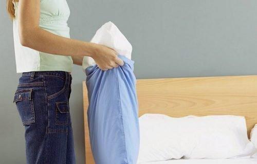 Как постирать перьевую подушку в домашних условиях стиральной машине