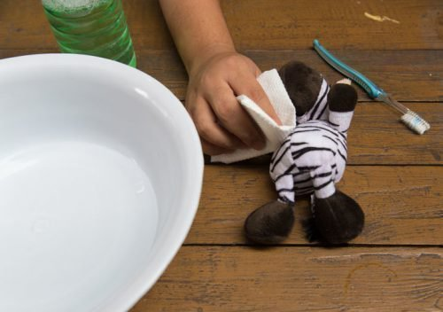 Чистка мягких игрушек